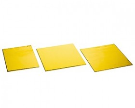 laiton planche poli miroir