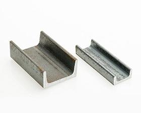 Aluminium coulisse u egal et inégal